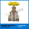 Válvula de compuerta de latón con rosca Nrs de alto rendimiento (BW-G07)