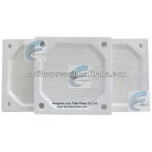 Filtro de Leo Prensa Placas de prensa de filtro de membrana de cámara de alta calidad