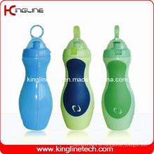 Garrafa de água de plástico, garrafa de água de plástico, garrafa de bebida de 600 ml de plástico (KL-6645)