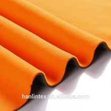 Hebei Hanlin The New Polar Fleece Bond Imitation Berber Fleece Fabric