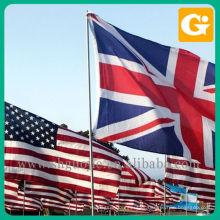 Bandeira de toda a impressão do país