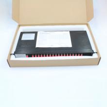 Fibra óptica CWDM com 1u Rack