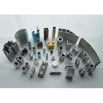 6061, 6063 Extrudiertes Aluminiumprofil für Bau und Möbel