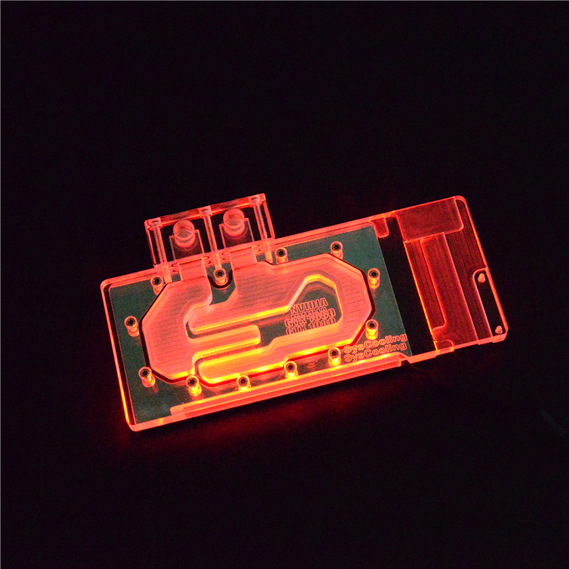 GUP Water Cooling GTX1080 / 1070 Copper Water Block