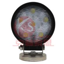18W cierre la luz del trabajo de la inundación LED de alta calidad, garantía de 2 años