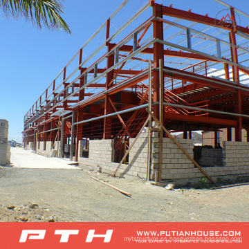 Pth Customized Design Large Span Estructura de acero Almacén