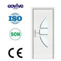 porta de PVC folha bonita alta qualidade quarto balanço de madeira