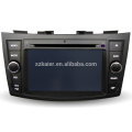 China Factory 2 din Touch Screen Android 8 Suzuki Swift Car dvd player Auto parts with Radio TV Tuner MP3 Player Reverse Camera