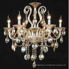 Lámparas de araña de cristal ámbar (KD8005-6)