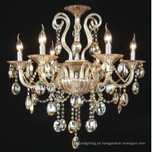 Lâmpadas de cristal de âmbar lustre (kd8005-6)