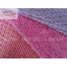 Tecido Plush PV para têxteis-lar 009