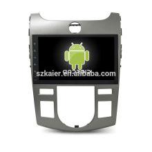 Núcleo Octa! Dvd do carro do android 7.1 para o forte com a tela capacitiva de 9 polegadas / GPS / ligação do espelho / DVR / TPMS / OBD2 / WIFI / 4G