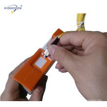 PGCLEB1 Reel-types Cleaners Limpieza de conectores de fibra óptica Cassette 500 veces más tiempo de vida