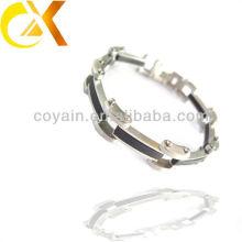 Bracelet à bijoux en acier inoxydable à la mode pour hommes