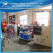 PVC PE Single Wall Corrugated Pipe Making Machine