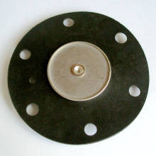 Diaphragme de nitrile moulé sur mesure