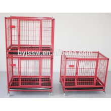 Gros gros cage de chien robuste en plein air