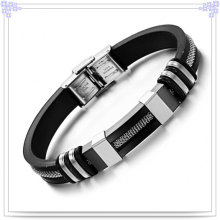 Fashion Jewelry Rubber Bracelet Silicone Bracelet (LB201)