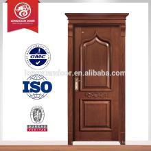Porta de madeira maciça esculpida de qualidade chinesa