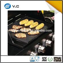 Free Beispiel China Lieferant feuerhemmende BBQ Grill Matte mit FDA ROHS Zertifikat