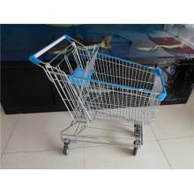 Asiatische Art-Einkaufslaufkatze für Supermarkt