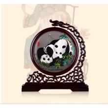 Рука Вышитые Произведения Искусства Панда