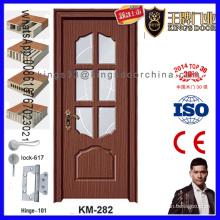 Posición interior Columpio Puerta de madera