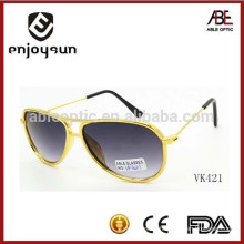 2015 latest novelty style double bridge kids sunglasses