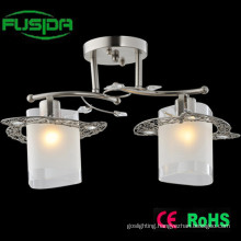 Square Glass Decorative Chandelier Light (X-9371/2)