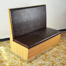China Factory Dining Leather Restaurant Furniture Booth (SP-KS265)