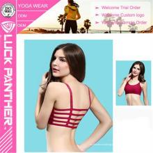 Cuatro agujas y seis hilos Tecnología y Fitness Wear Wholesale Ladies Sport Yoga Bra