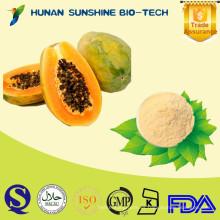 100% lácteos naturales sin azúcar añadido, conservantes o aromatizantes artificiales Polvo de papaya seco