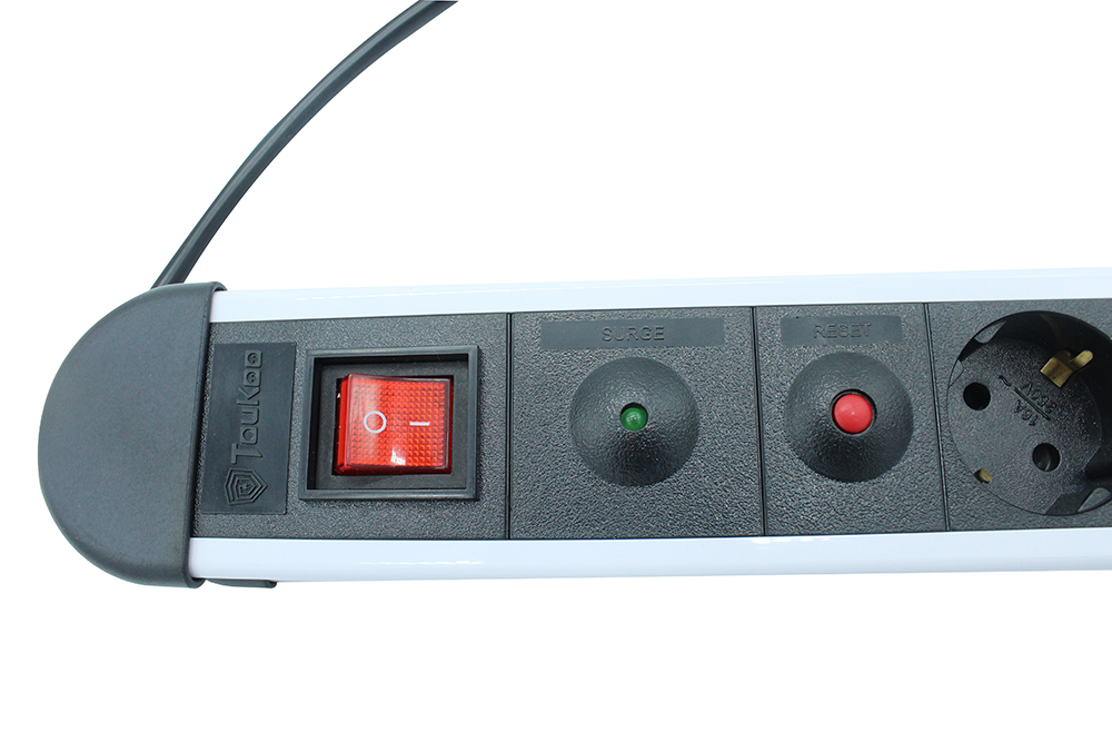 Surge Protected German Power Bar