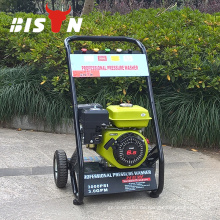 BISON China Taizhou 6.5HP Multi-Power Licht Land Benzin Hochdruckreiniger