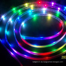 DMX RGB 14 Pixel / m 2400k warme weiße LED-Streifenbeleuchtung