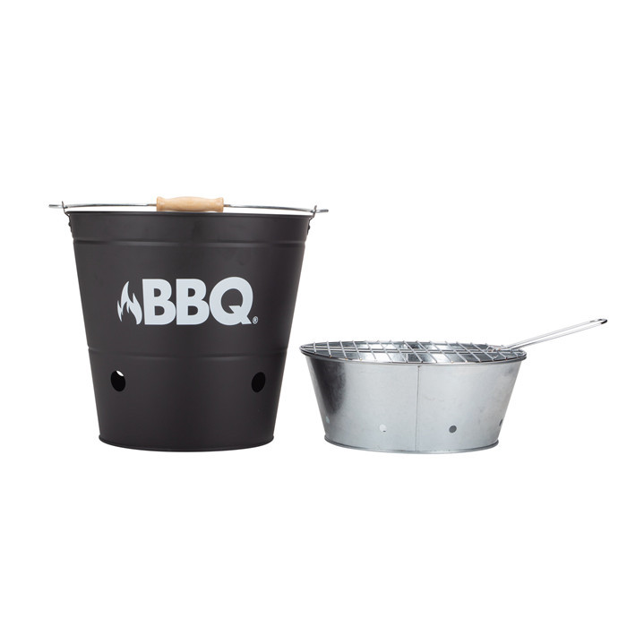 Steel Barbecue Bucket Grease Bucket