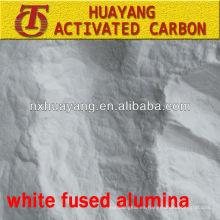 Al2O3 de 325 mallas con polvo de alúmina fundida blanco refractario para fundición de precisión