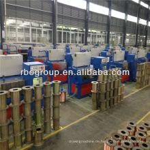Kabel-Herstellungsausrüstung 14DT (0.25-0.6) Kupferfeindrahtziehmaschine mit dem Ennealing