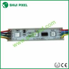 Shiji polychrome smd 5050 rgb 75x15mm LED Module, 20pcs / chaîne