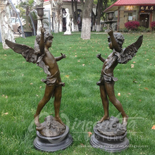 high quality little bronze angel statues wholesale