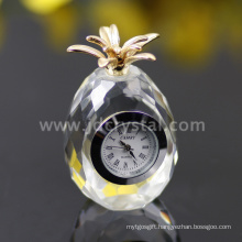 Small Crystal Table Clock Gifts
