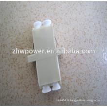 LC / UPC MM DX Adaptateur à fibre optique Fabricant, manchon en céramique