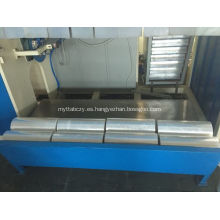 Película de estiramiento del cambio de rodillo automático que hace la máquina