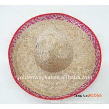 Cheap straw sombrero hat