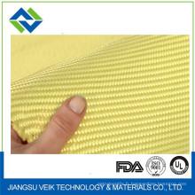 Tissu de kevlar de couleur beige de résistance à hautes températures