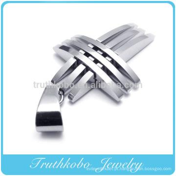 TKB-P023 Preço de Fábrica Abastecendo Novo Design Christian Jewelry Fazendo Pingentes Cruz para Caras