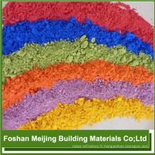 vente chaude de haute qualité pigmentation noire sur l'usine de mosaïque de verre de peau