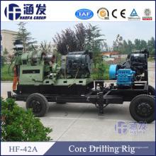 Hf-42A máquina de perforación geotécnica, plataforma de perforación de muestra de núcleo