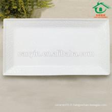 Sublimation Square en céramique en porcelaine Plaque