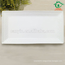 Sublimation Square Ceramic chinaware Plate